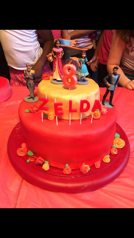 Elena Of Avalor Cake Birthday Pinterest Cupcake