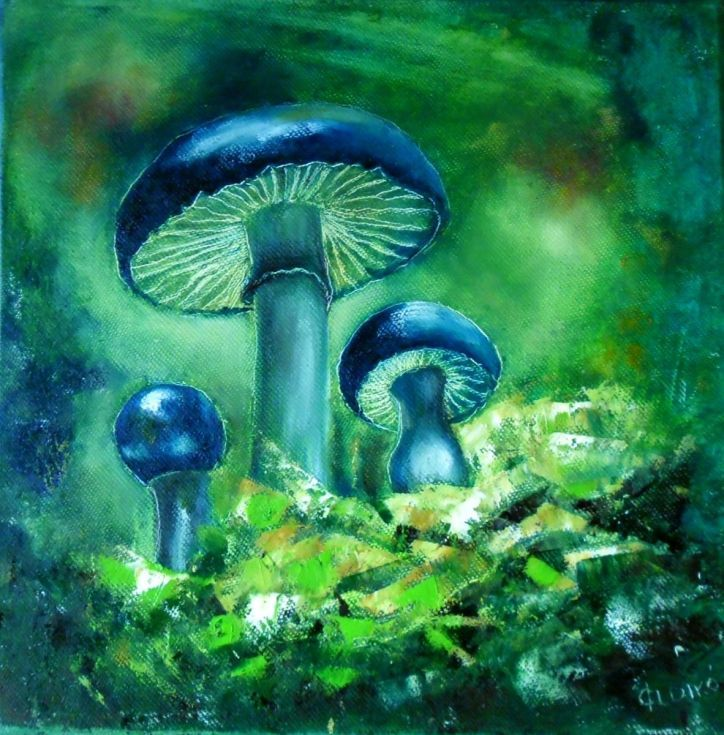 Buy MAGIC MUSHROOM 3, Oil painting by Ildikó Csegöldi on Artfinder. Discover thousands of other original paintings, prints, sculptures and photography from independent artists.