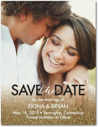 Romantic Save the Date Card // Reminds me of The NoteBook