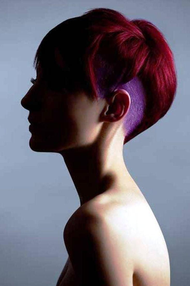 Kurzes Haar-Farbe-Trends