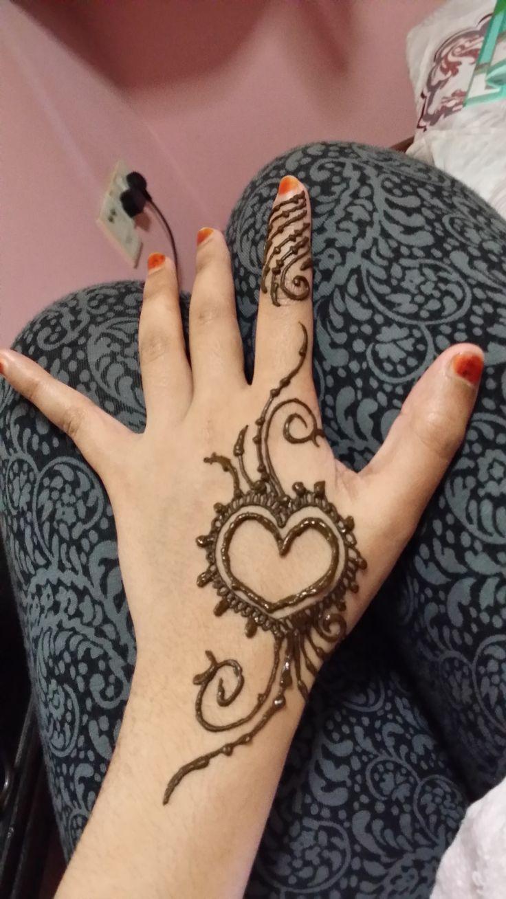 Mehndi For Practice : Simplest henna practice on own design pinterest