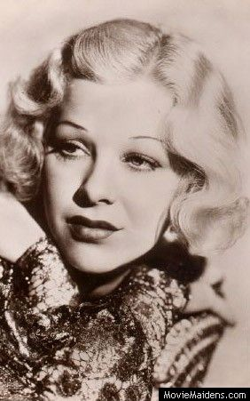 Glenda Farrell - 1930s actress ... when she was young - MovieMaidens.com