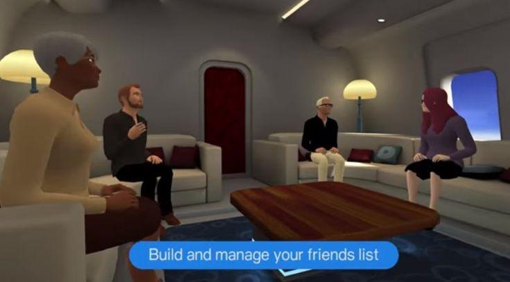 #Multimedia #app #realidad_virtual vTime, una aplicación para que podamos interactuar con otros en la Realidad Virtual