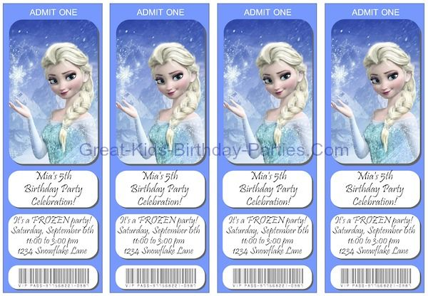 It is a graphic of Free Printable Frozen Invitations Templates intended for 8th birthday invitation