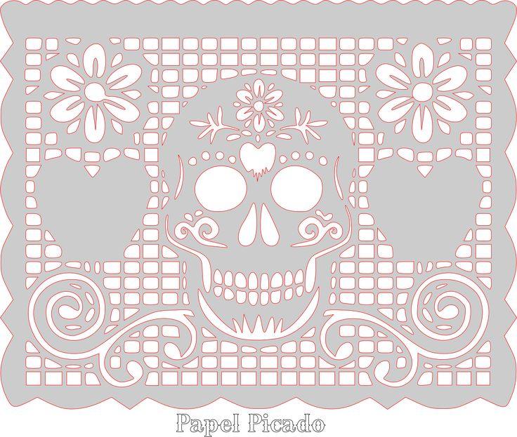 359 best images about dia de los muertos on pinterest mexican art papel picado and sugar. Black Bedroom Furniture Sets. Home Design Ideas
