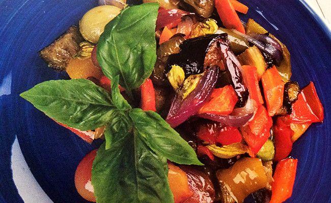 ratatuille di frutta e verdura