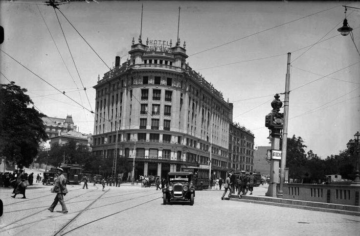 Glorieta Atocha, década de 1930. António Passaporte (1901-1983) Archivo LOTY. Fototeca del Patrimonio Histórico. Ministerio de Cultura.