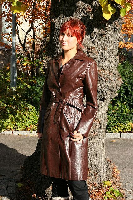leather coat | Flickr - Photo Sharing!