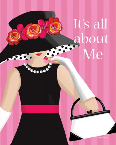 It's All About Me Print by Kathy Middlebrook at eu.art.com