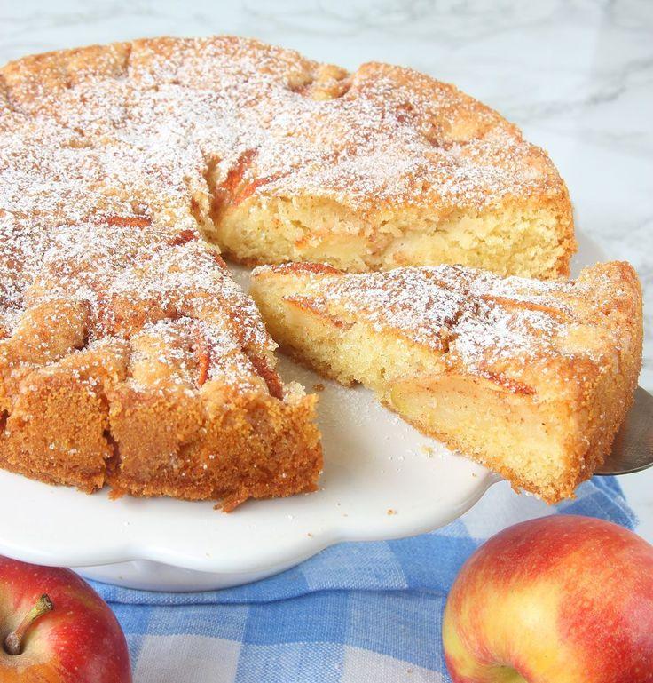 Lyxig äppelkaka – Lindas Bakskola
