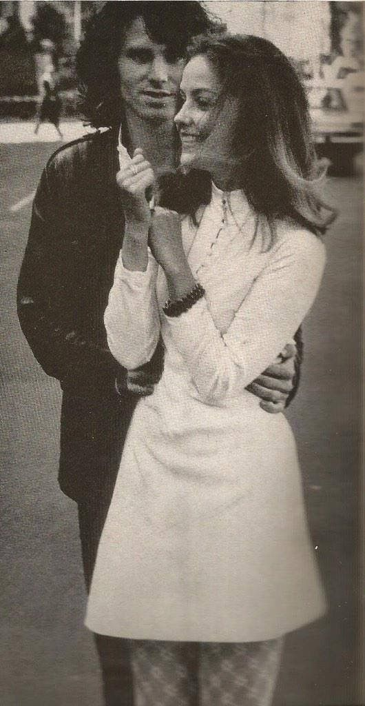 Jim Morrison - Not sure who the girl is...