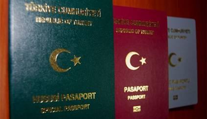 Republic of Turkey's passport types