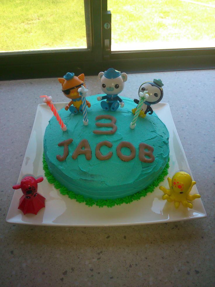 Jacobs 3rd Birthday Cake