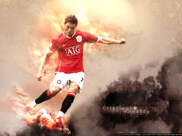 Christiano Ronaldo - Manchester United;)