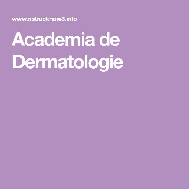 Academia de Dermatologie