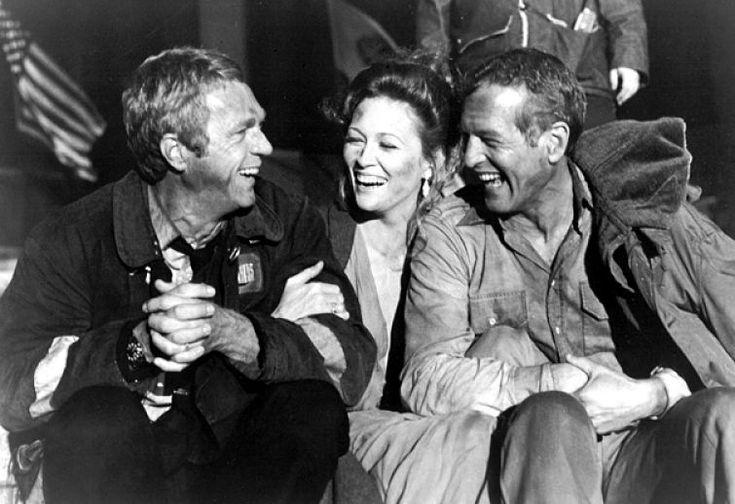 """The Towering Inferno"" (1974) Steve McQueen, Faye Dunaway, & Paul Newman"