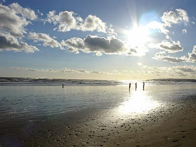 After the storm, Camber Sands, Rye, Sussex, UK