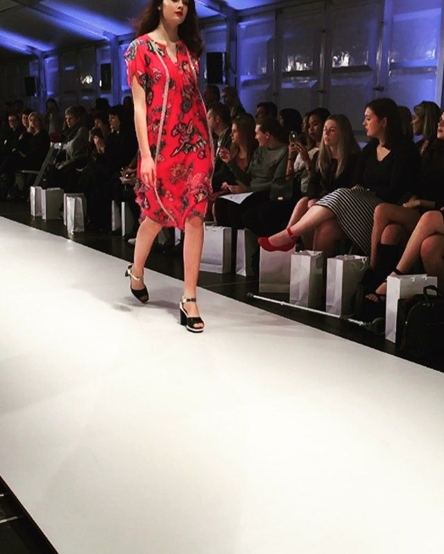 Show time @zierashoes First look at Ziera's new heel, the Cooper, at the @nextmagazinenz Fashion Week show. #nzfw