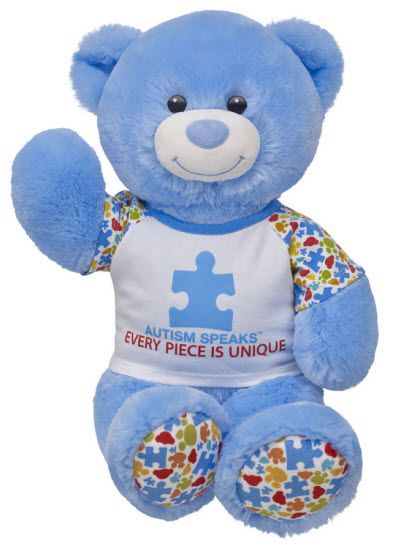 Build-A-Bear Workshop launches special bear to support Autism Speaks