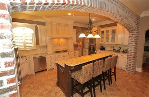 Brick Arch Kitchen For The Home Brick Arch Home New House Plans