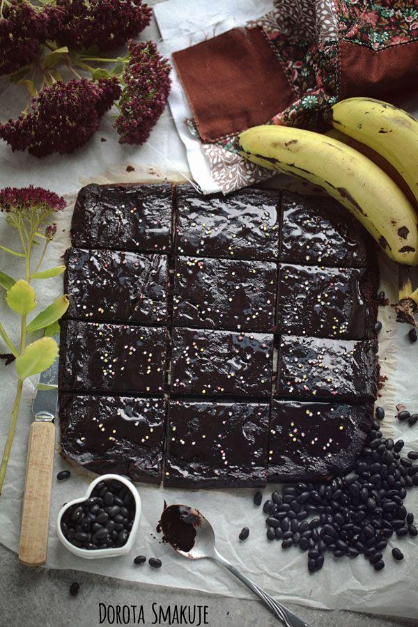 Brownie z fasoli - bez mąki, fit