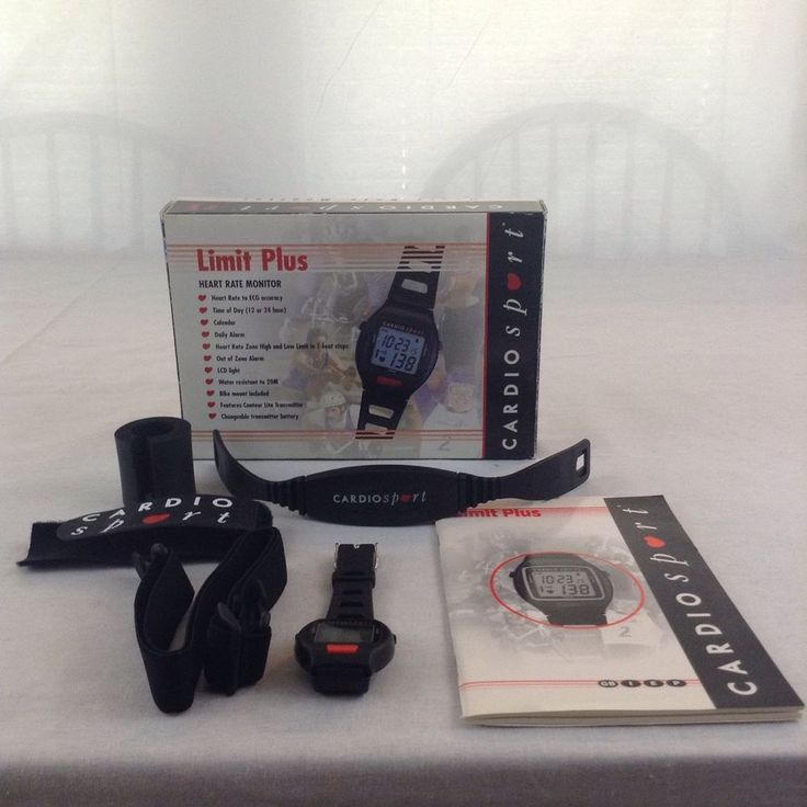 cardiosport heart rate monitor instructions