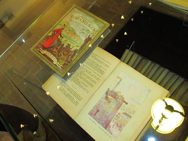 Egri Csillagok első kiadás (1901) Gárdonyi Géza Emlékház Fotó: Czimbalmos Szilvia