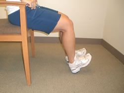 Diabetes and Your Feet in CT: Exercises For Peripheral Neuropathy: Seated Dorsiflexion