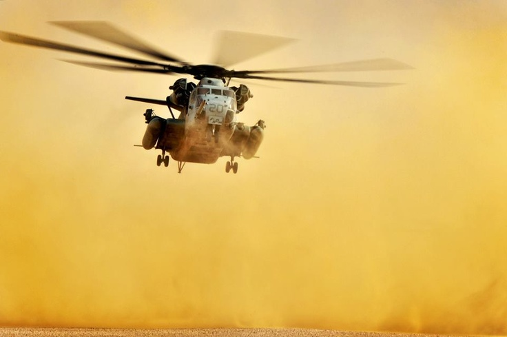 CH-53 E Super Stallion. USMC FB page