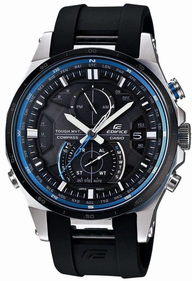 Casio Men Watches : Casio Edifice Smart Access Solar Tough Movement Corresponding 6 World Station EQWA1200B1AJF Men's Watch Japan import