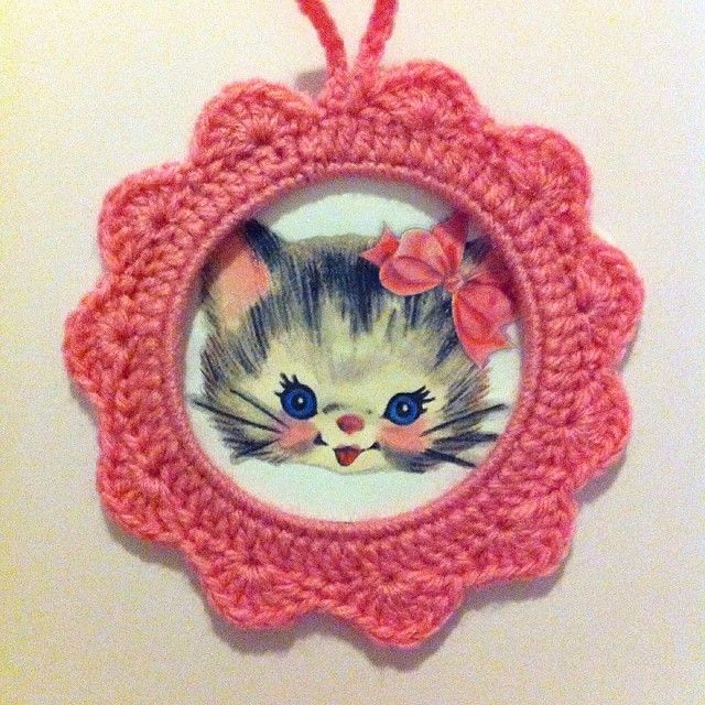 1000 images about cadres crochet on pinterest tuto tricot ps and crochet - Cadre photo dessin ...