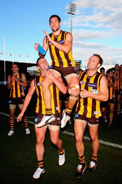 Luke Hodge Photo - AFL Rd 20 - Hawthorn v Port Adelaide