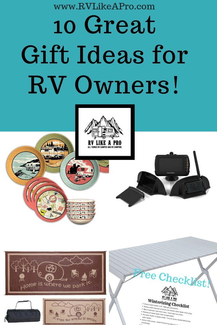 gift ideas for rv owners | rv tips and tricks | pinterest | gifts