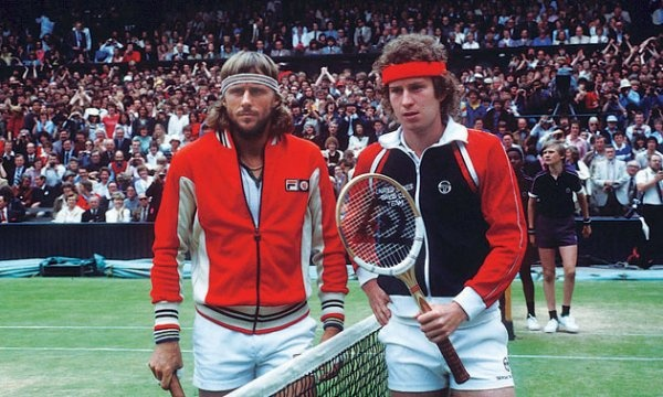 In 1980, Bjorn Borg and John McEnroe put on one of the greatest matches Wimbledon has ever seen. #Fila #tennis #wimbledon #rivalry: Hipster, Old Schools, 1980, Vintage Tennis, Bjorn Borg, Sweat Bands, John Mcenro, Vintage Wardrobe, Tennis Players