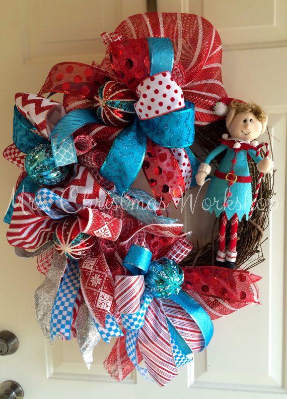 M s de 25 ideas incre bles sobre navidad turquesa en for Arbol navidad turquesa
