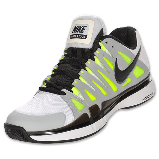 online store 607b3 843fa ... Tennis Mens Shoes White Black Nike Zoom Vapor 9.5 (click twice for  updated pricing and more info) Finish Line NIKE Zoom Vapor 9 ...
