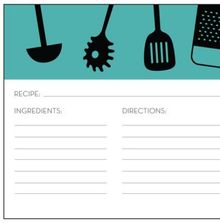 426 best RECIPE CARDS \ TEMPLATES images on Pinterest Printable - free recipe card templates for microsoft word