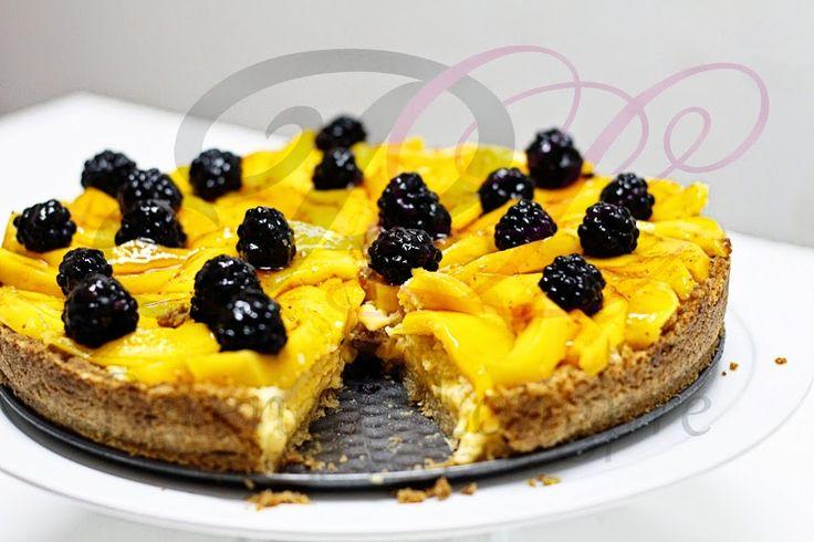 Tarta de Mangos con Maracuyá perenelle longpré: Google+