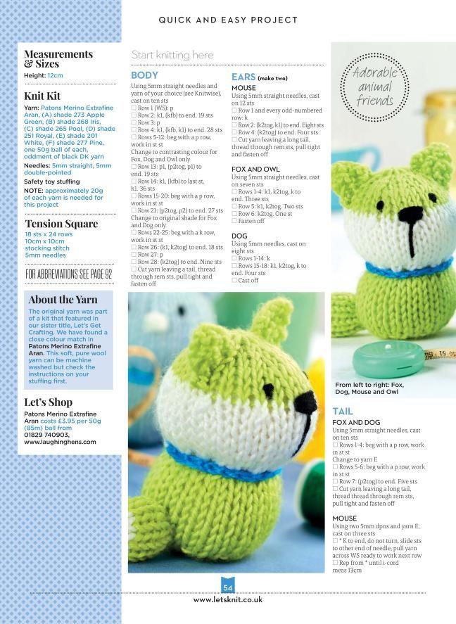 Mejores 7 imágenes de Free knitting patterns en Pinterest | Tejer ...