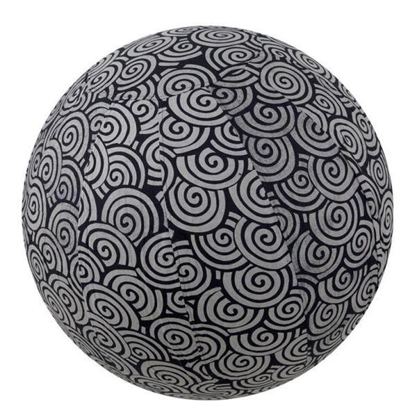 Yoga Ball Cover Size 65cm Design Black Swirl - Global Groove (Y)