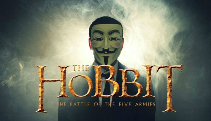 Watch Hobbit battle of the five armies as the film has been already released in many online sources to watch by anonymous group that has been working as a hacking group for providing users the facility to watch the hobbit part 3 online. #Hobbit #Anonymous #Leaked