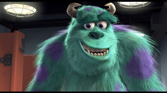 monsters ink sulley portrait | large monsters inc blu-ray4x - Monstres poilus - elea369 - Photos ...