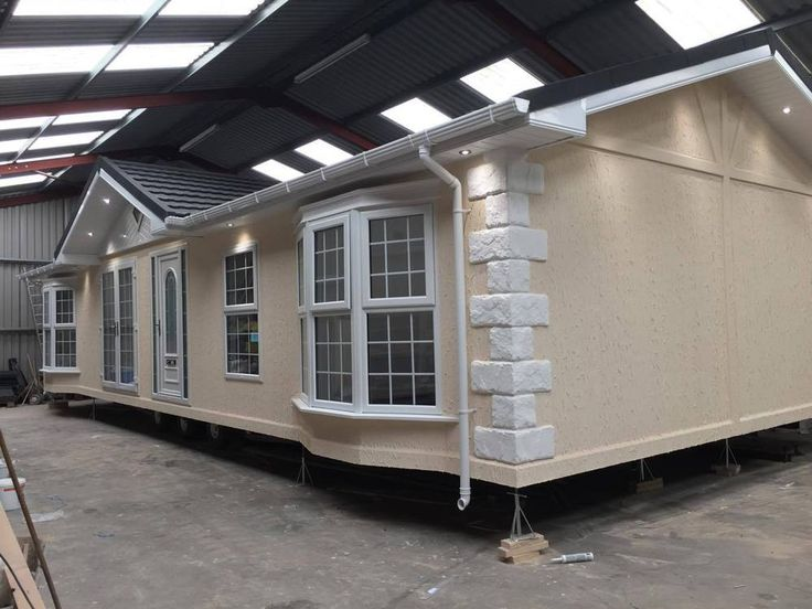 Twin Unit Chalet Mobile Home 2017