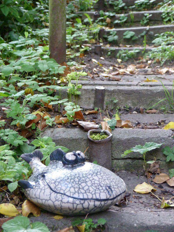 11 besten keramik garten rund ums meer bilder auf for Garten fische