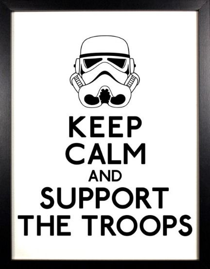 Keep Calm and Use The Force – 25 Star Wars Posters