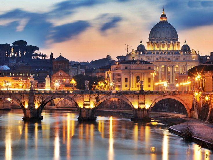 Rome Beauty Italy HD Wallpaper Wide