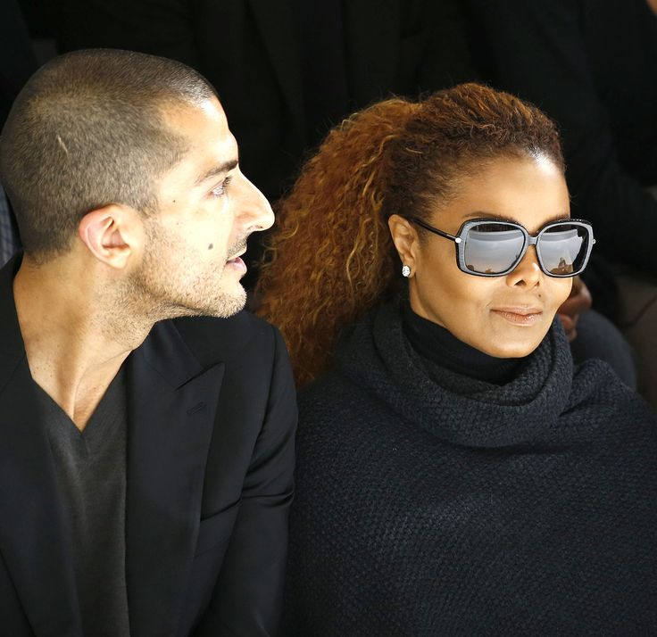 Janet Jackson and her husband, Wissam Al Mana, made a rare appearance together at Paris Fashion Week on Monday, Oct. 5 -- see the photos!