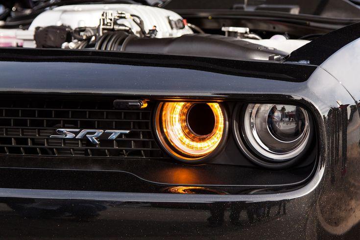 Dodge Challenger Hellcat Headlight Intake