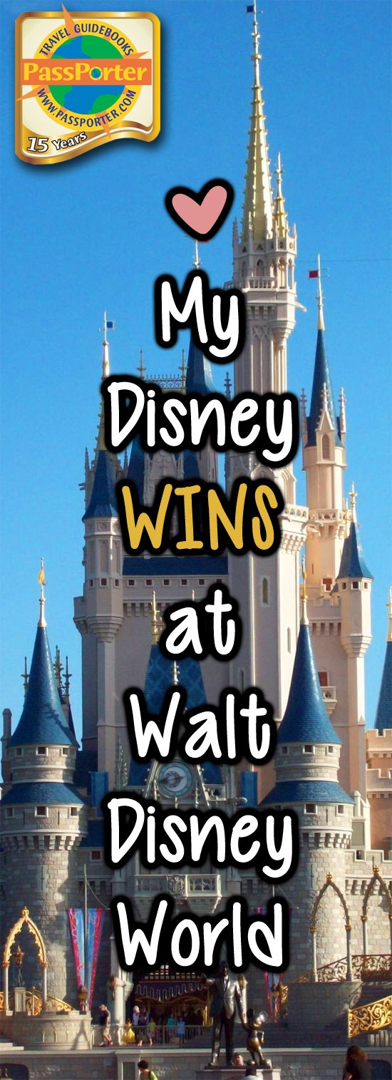 My Disney Wins: A Walt Disney World Planning Review - PassPorter.com #disneyworld #wdw