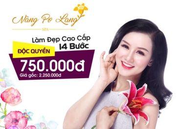 Nàng Pơ Lang Spa – Voucher làm đẹp cao cấp độc quyền 14 bước (120') chỉ 750k